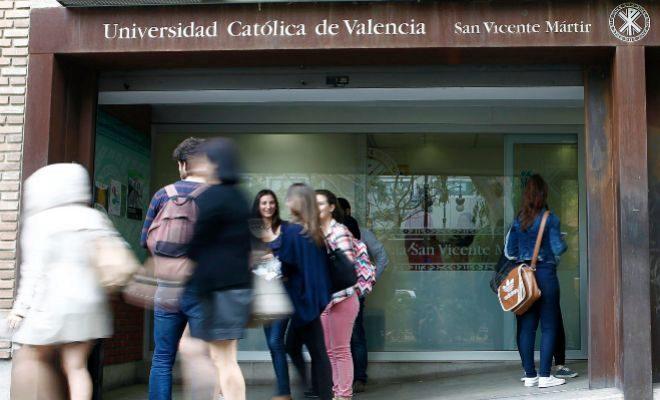 Centro de la Universidad Católica en Valencia.