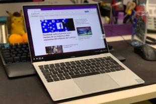 El MateBook X Pro es el mejor portátil del año
