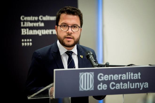El vicepresidente del Govern y consejero de Economía, Pere Aragonès.
