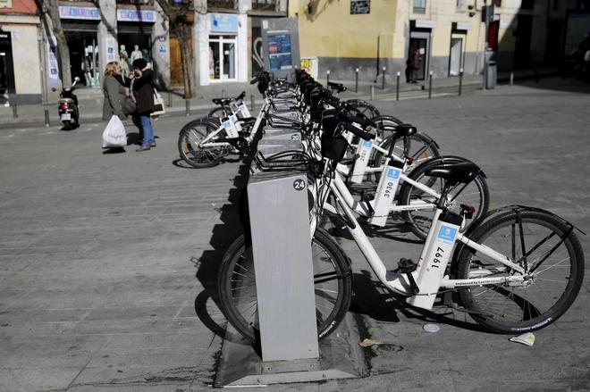 Estación de bicicletas de Bicimad