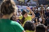 Un momento de la edición 2017 del festival Altruritmo en el Campo de...