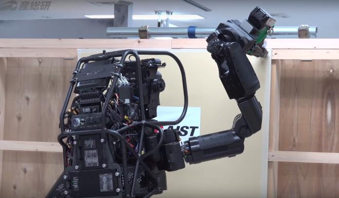 El robot albañil que construye con madera y yeso
