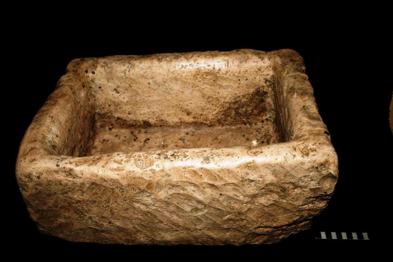 Una 'especie' de lavabo romano