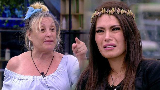 Aramís Fuster y Miriam Saavedra, en Gran Hermano VIP.