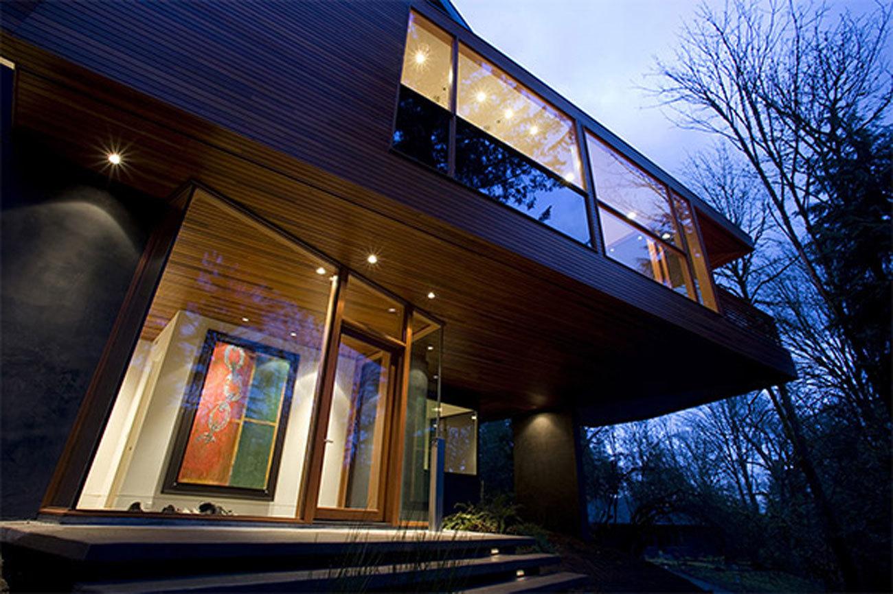 La saga Crepúsculo nos enseñó esta espectacular mansión...
