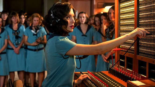 Blanca Suárez, protagonista de la primera serie española de Netflix, 'Las chicas del cable'.