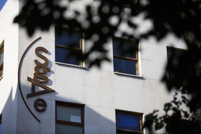 Sede de la SGAE (Sociedad General de Autores y Editores) en la Calle Fernando VI de Madrid.
