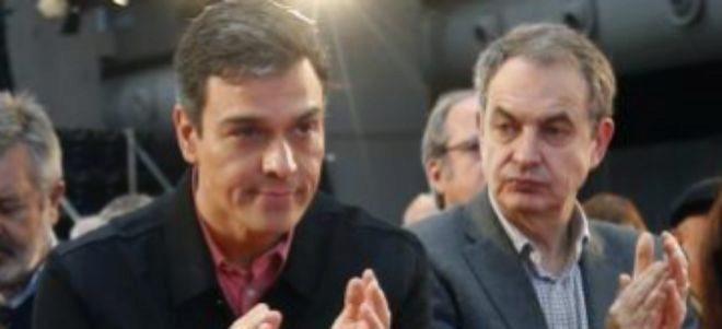 Sánchez y Zapatero en un acto reciente.