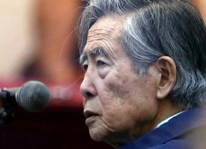 El ex presidente peruano Alberto Fujimori