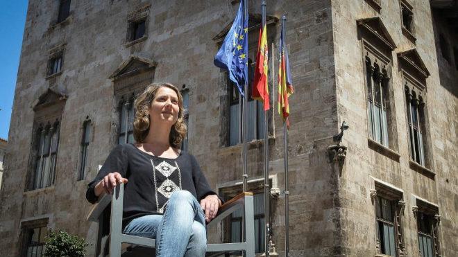 Marina Albiol, eurodiputada de IU.