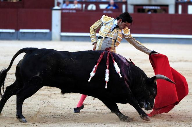 Talavante, en su última tarde en Las Ventas