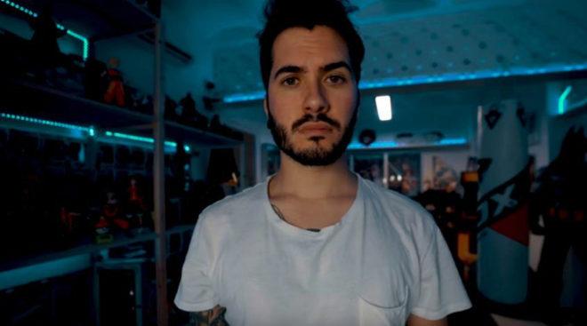 El youtuber Wismichu en uno de los fotogramas del trailer de Bocadillo