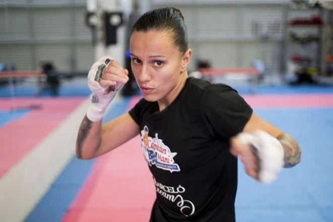 Joana Pastrana, campeona del mundo de boxeo