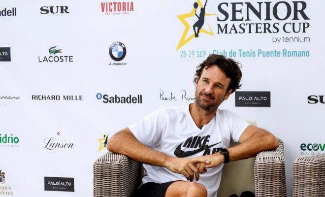 Carlos Moyá, la pasada semana en Marbella.