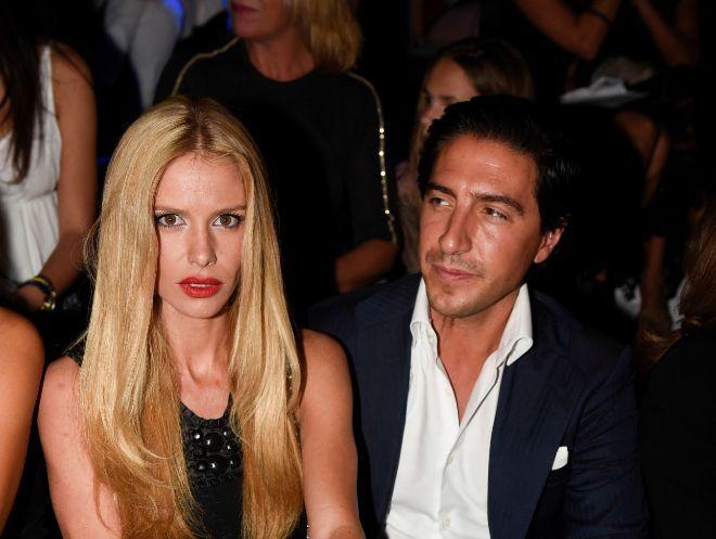 A María Sanjuán un juez la llamó bicho. En la imagen junto a su ex marido Josué Reyzábal.