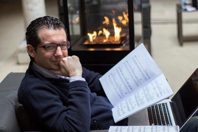 El compositor y productor sevillano José Abraham.