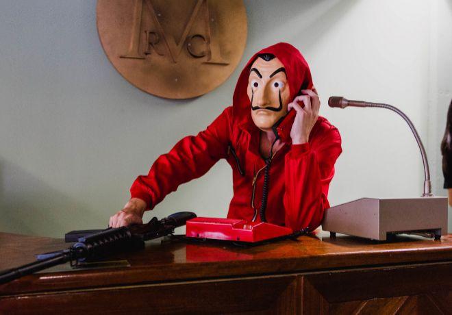 Imagen de uno de los personajes del escape room.