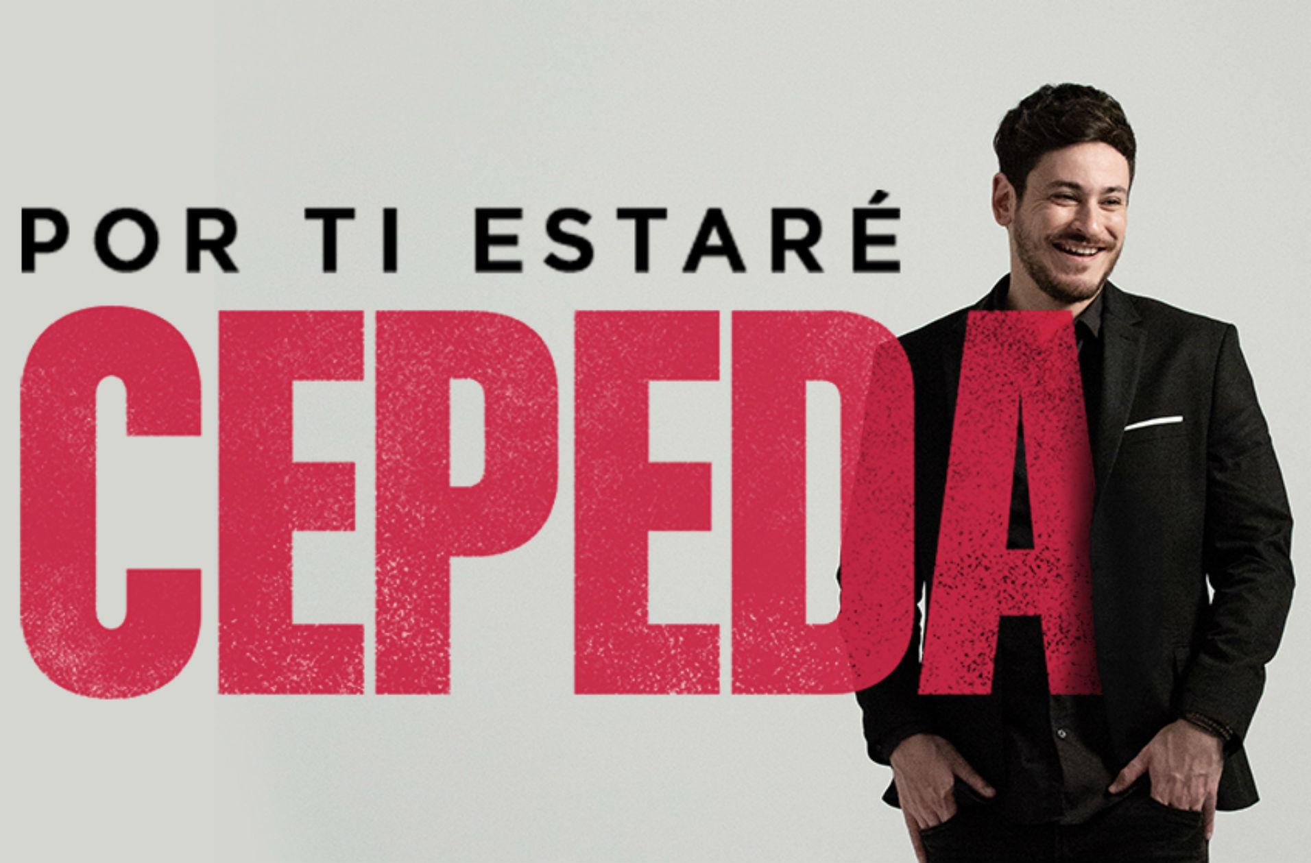 Portada del single 'Por ti estaré' de Cepeda.