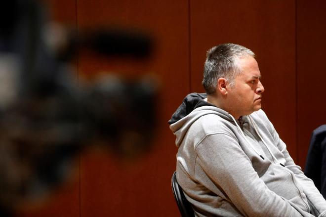 El acusado, Marcos Javier Mirás, durante el juicio celebrado en la...