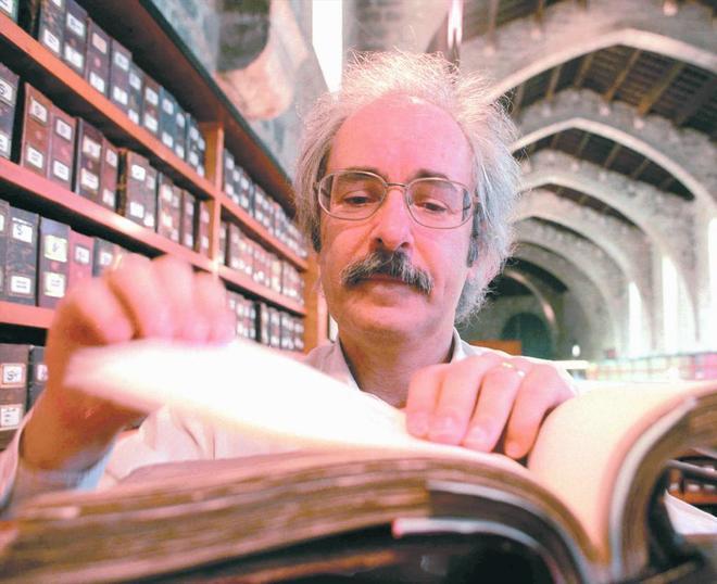 Jaume Tribó, en 1999.