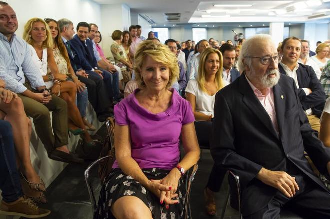 La vuelta de Esperanza Aguirre al PP de Madrid