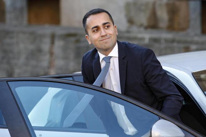 El ministro de Trabajo y Desarrollo italiano, Luigi Di Maio.