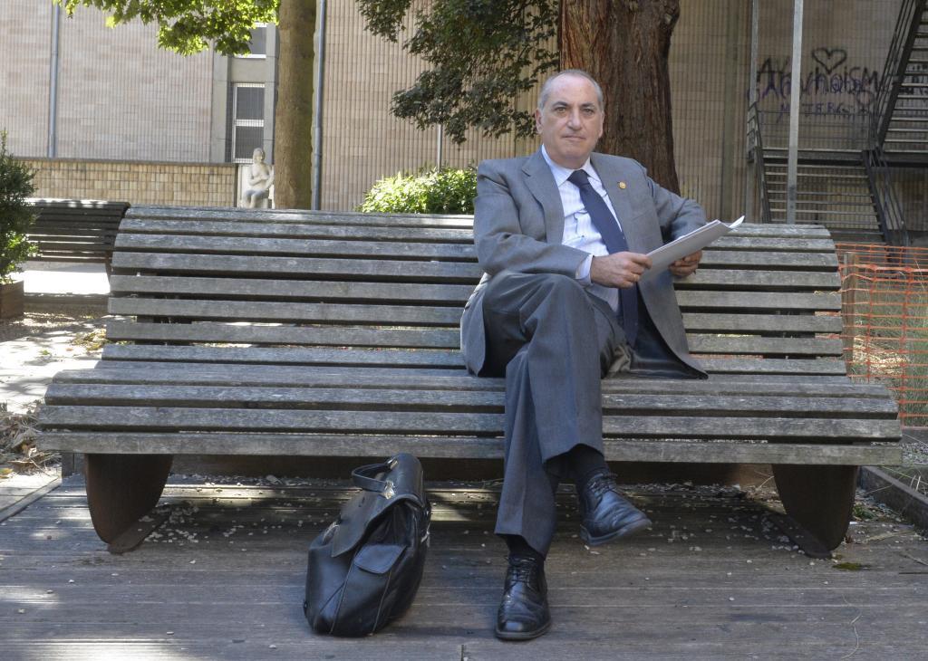 Iñaki Arriola, consejero de Medio Ambiente, Planificación Territorial y Vivienda,