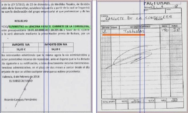 9acbea1a0235 Las facturas de la ex ministra Carmen Montón en Valencia: lencería ...