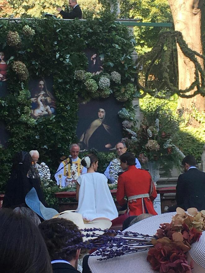 Lo que no se vio de la boda de Fernando Fitz-James Stuart y Sofía Palazuelo: la 'boda del año'