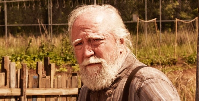 Scott Wilson en una imagen de 'The Walking Dead'.