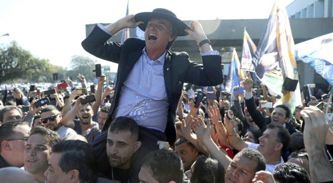 El candidato de ultraderecha Jair Bolsonaro.