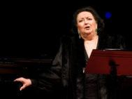 La soprano, durante una actuación en la catedral de Burgos en 2007.