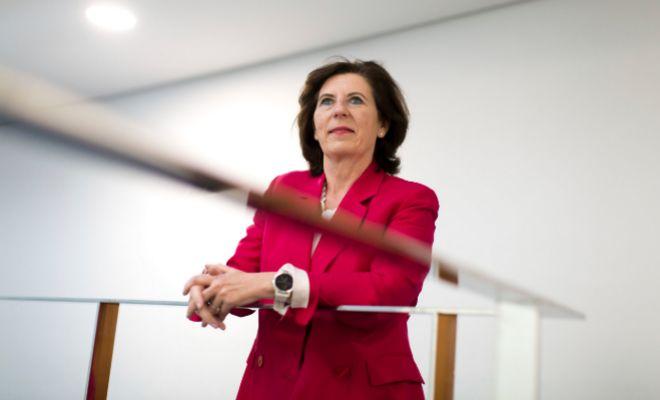 La presidenta de HP para España y Portugal, Helena Herrero, en el Adeit de Valencia.