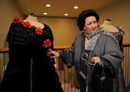 Montserrat Caballé en la conmemoración en el Gran Teatre del Liceu de sus 50 años de carrera.