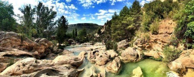 Un tramo del río Cabriel.