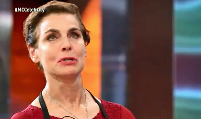 Antonia Dell'Ate llora desconsoladamente en MasterChef Celebrity.