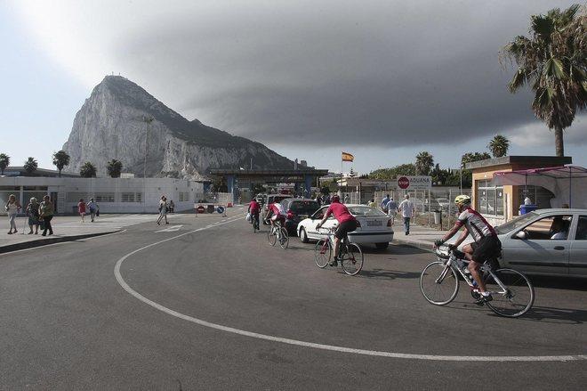 Frontera con Gibraltar