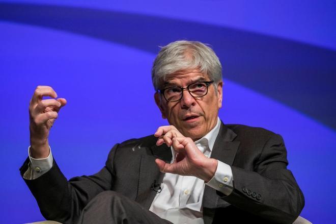 Paul Romer en una conferencia en Washington.