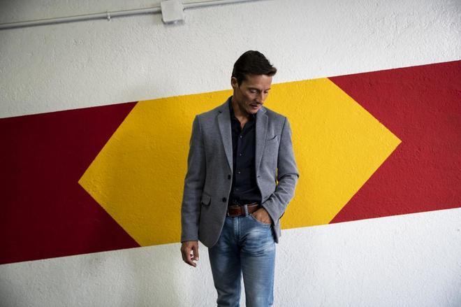 Diego Urdiales, en el parking del hotel Wellington, 24 horas después de su apoteosis en las Ventas.