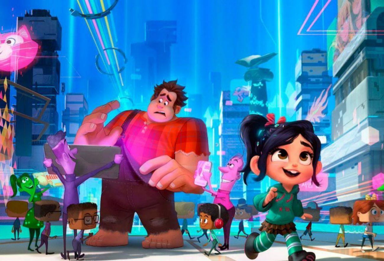 En 2012 se estrenó Rompe Ralph, una cinta de animación...