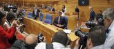 El presidente de la Xunta, Alberto Núñez Feijóo, en el Debate sobre...