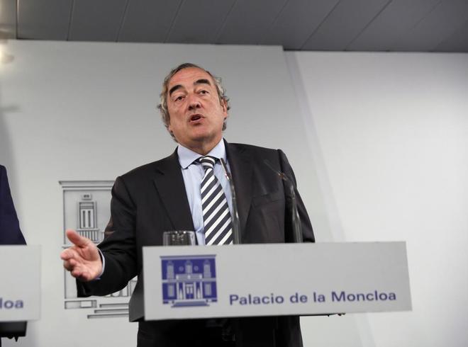 El presidente de la CEOE, Juan Rosell,