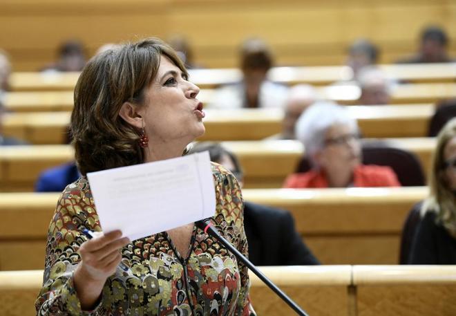 Dolores Delgado se opuso a extraditar a un cliente del bufete de Baltasar Garzón vinculado al 'caso Villarejo'