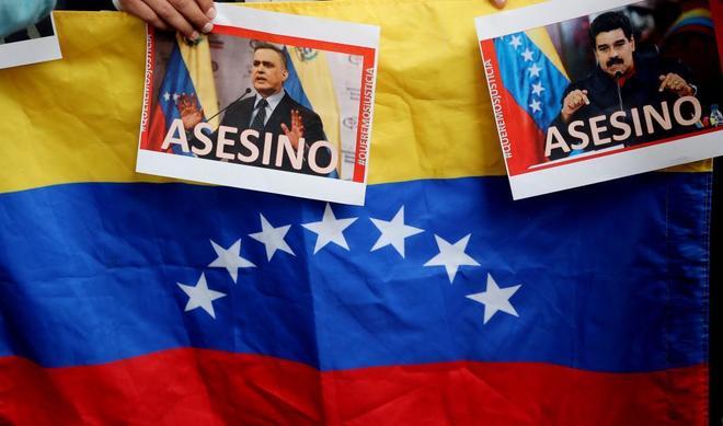 El exilio venezolano pide un golpe que tumbe al chavismo