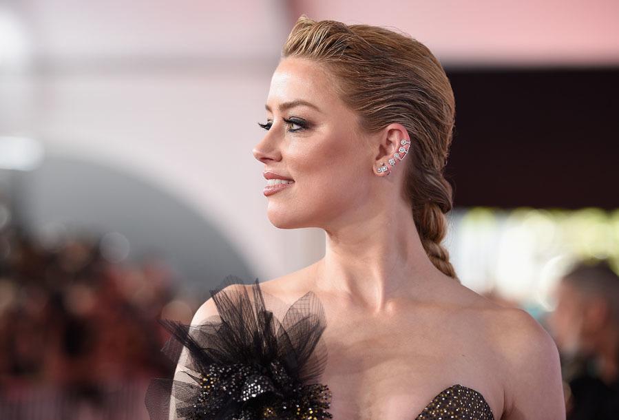 La actriz fue una de las más elegantes de la noche, y en parte...