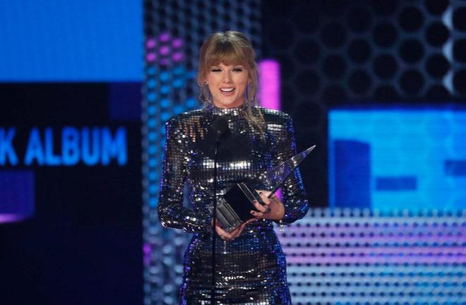 Taylor Swift, la gran ganadora de los AMAs 2018