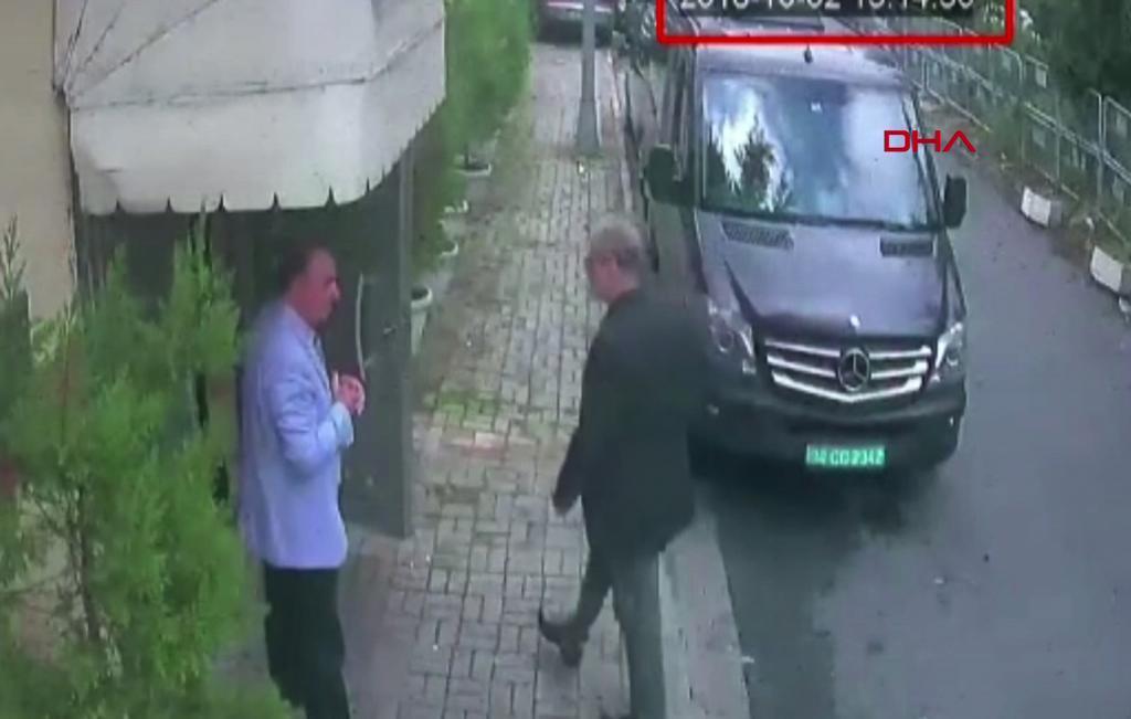 Un experto forense fue al consulado saudí el día en que desapareció el periodista Yamal Khashoggi