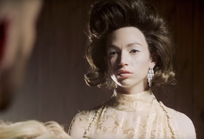 Úrsula Corberó en el videoclip de C. Tangana.