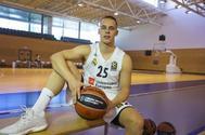 Klemen Prepelic posa en Valdebebas para la entrevista con EL MUNDO.