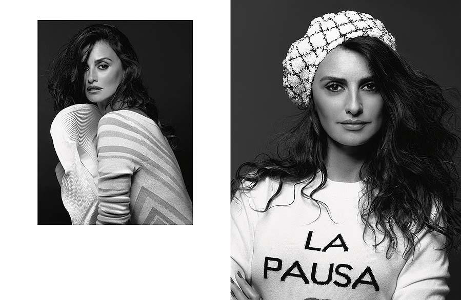 Penélope Cruz, fotografiada por Karl Lagerfeld